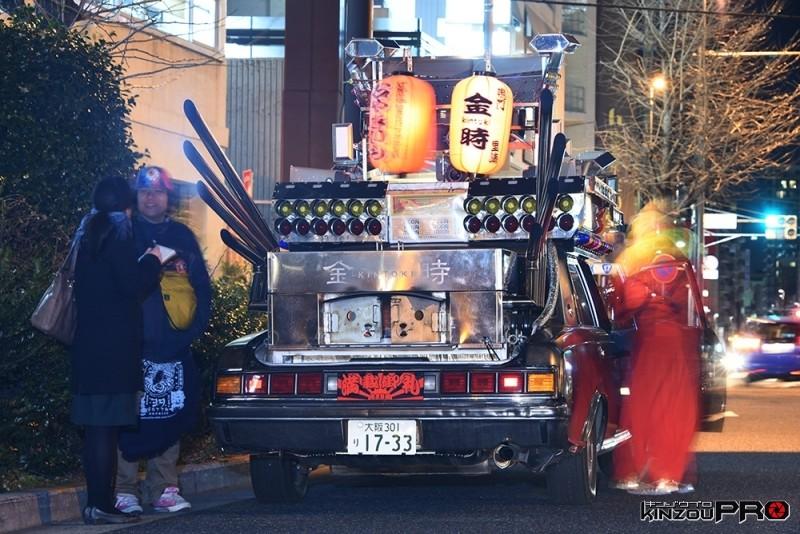 岡本太郎賞改造高級車による移動焼き芋販売車デコセンチュリー(yotta氏作) 1