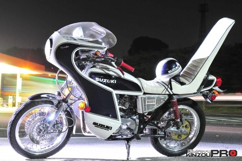 かっこいいスズキの旧車バイク GS 1