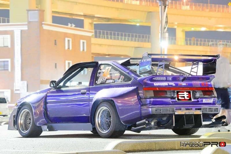 環状一速かった配達車!花売り太郎さんのスプリンタートレノAE86 2