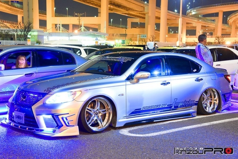 Photo of インプレッションさんのVIP仕様トヨタ・レクサスLS460大黒にて