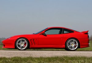 2005 Ferrari 575M Maranello Novitec Rosso; top car design rating and specifications