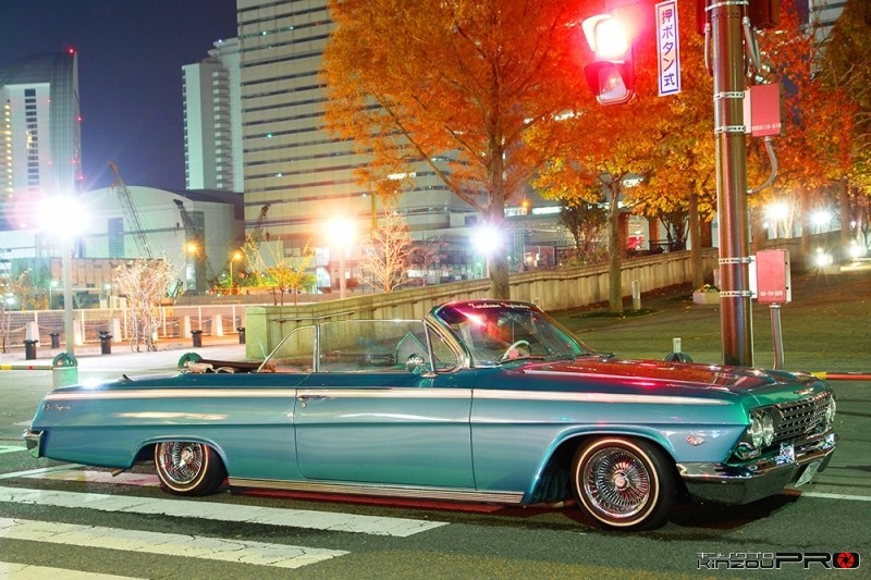 Photo of ストリートのインパラローライダー(水色)