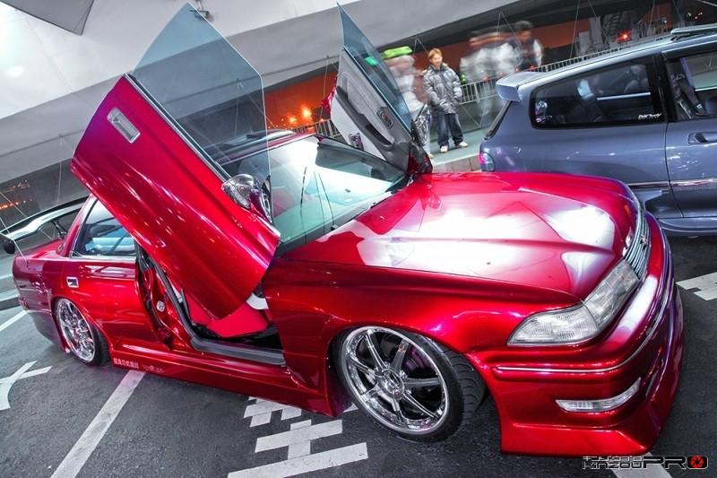 Photo of スポコンのトヨタマークII 100型 ガルウィングのかっこいいやつ!