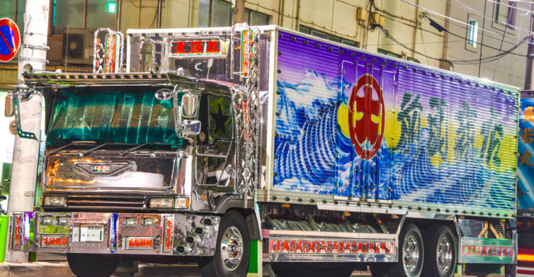 Photo of 前田商店の幸海丸は仕事車トラックの金字塔!すずき工芸の大迫力ペイント