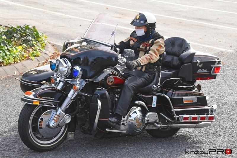 世界最強バイクチームの最高齢ハーレーバイカー門馬さん95歳! 1
