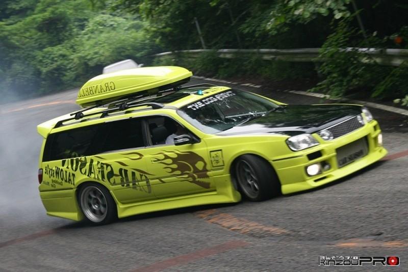 車線割りまくり!伝説の神奈川ストリートドリフトチームカーシーズンの暴れっぷりw 1