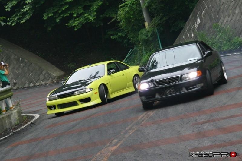 車線割りまくり!伝説の神奈川ストリートドリフトチームカーシーズンの暴れっぷりw 3