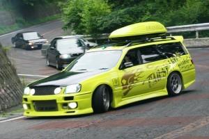 車線割りまくり!伝説の神奈川ストリートドリフトチームカーシーズンの暴れっぷりw 4
