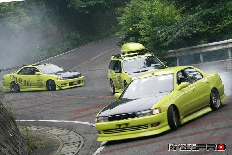 車線割りまくり!伝説の神奈川ストリートドリフトチームカーシーズンの暴れっぷりw 5