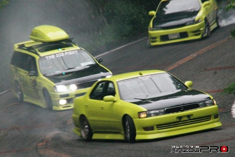 車線割りまくり!伝説の神奈川ストリートドリフトチームカーシーズンの暴れっぷりw 6