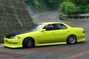 車線割りまくり!伝説の神奈川ストリートドリフトチームカーシーズンの暴れっぷりw 7