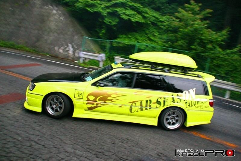 車線割りまくり!伝説の神奈川ストリートドリフトチームカーシーズンの暴れっぷりw 9