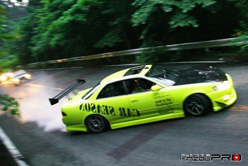 車線割りまくり!伝説の神奈川ストリートドリフトチームカーシーズンの暴れっぷりw 10