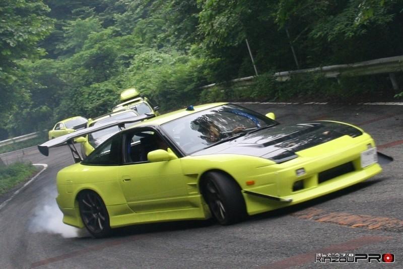 車線割りまくり!伝説の神奈川ストリートドリフトチームカーシーズンの暴れっぷりw 11