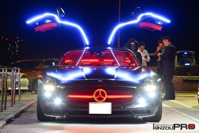 世界一かっこ良く輝いていたメルセデスベンツSLS AMG 5