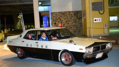 パトカーが道交法完全違反?警察も騙される希少なヨンメリの暴走族仕様パトカー 1