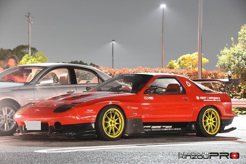 ランボルギーニーミウラやスカイラインシルエットを彷彿させるタモンデザインのFC3S-GT 1