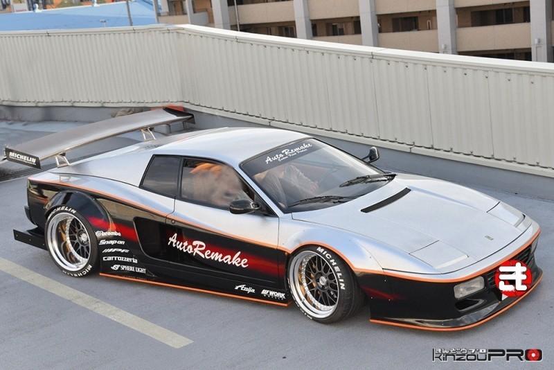 完璧なデザインのテスタロッサを超えた512TRはピニンファリーナもビックリ・・・だろうw 1
