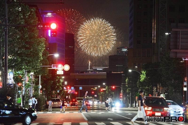 私が考えるストリートスタイルの花火写真!!ww 1