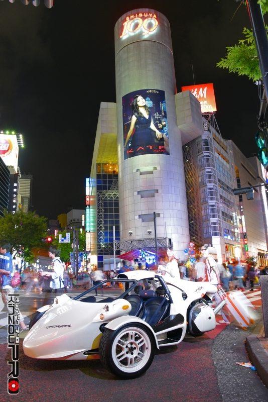 本邦初?アメリカの暴走族バイクギャングのボスキャラT-REXを渋谷のストリートに参上させた! 3