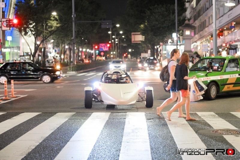 本邦初?アメリカの暴走族バイクギャングのボスキャラT-REXを渋谷のストリートに参上させた! 4