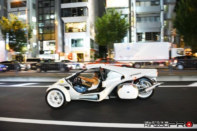 本邦初?アメリカの暴走族バイクギャングのボスキャラT-REXを渋谷のストリートに参上させた! 6
