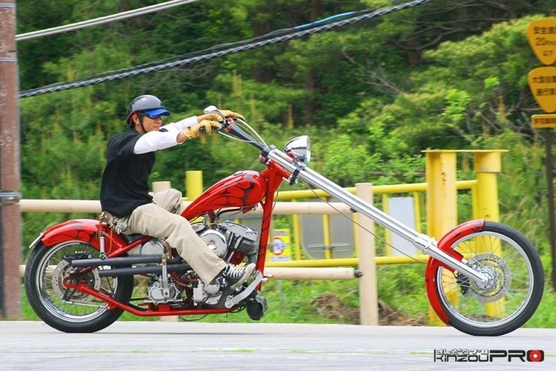 チョッパーはバイクの原点である走ることの喜びと感動を呼び起こす!w 1