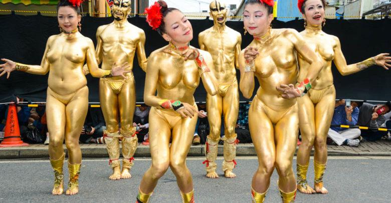 大駱駝艦の金粉ショーはなぜおっぱいを隠した?前衛舞踏の芸術は猥褻か?Blog 1