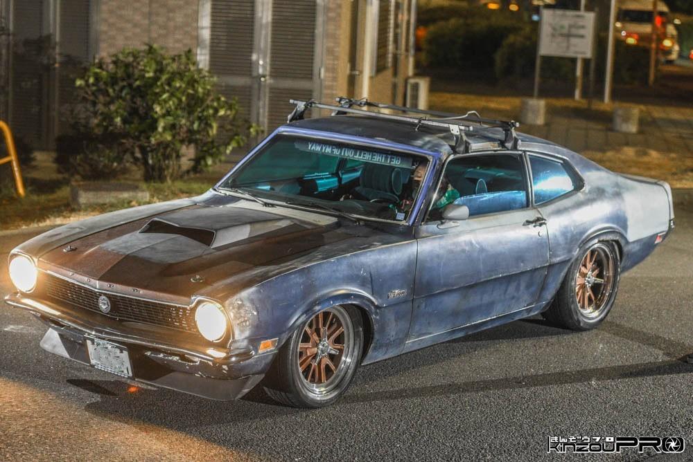 マッドマックスに出てそうなアメ車の旧車やられ系マッスルカーFord MarvericPortfolio