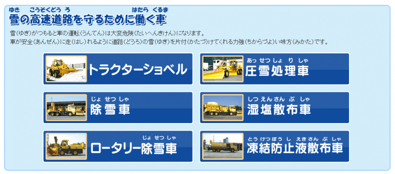 NEXCO西日本のはたらく車たち NEXCO 西日本