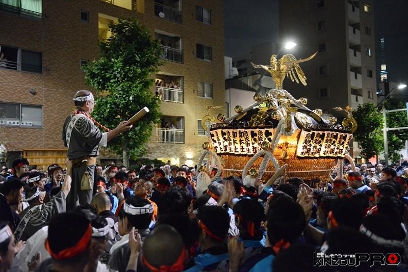 鳥越祭のよる祭り2014年 4