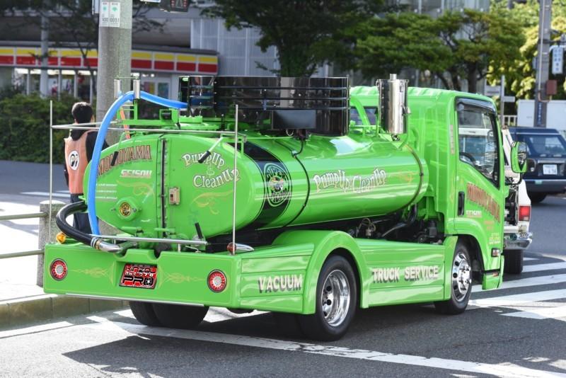 家の前に止まってても恥ずかしくない日本一スタイリッシュなバキュームカー!昭和時代に欲しかったwBlog 1