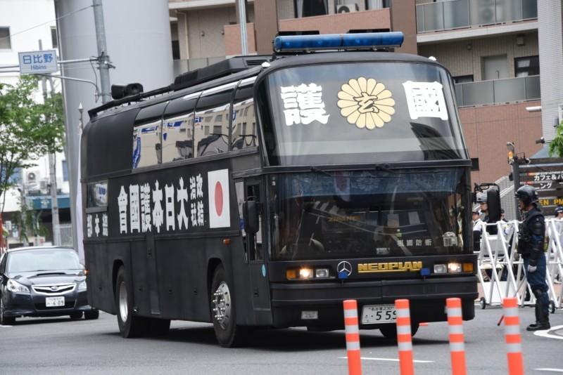 愛国者の夢と浪漫を乗せて走る大日本護國會のスペースライナー街宣車Portfolio
