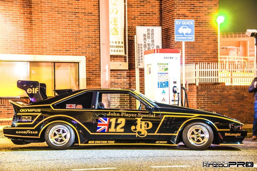 名車誕生!F1史上最も美しい車と言われJPSロータス79のカラーを暴走族がセリカXXで再現wBlog 1