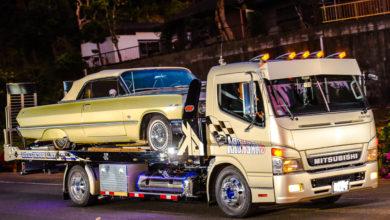 Photo of 積載車までアメリカン!ジャパニーズローライダーのトラックがかっこいい!